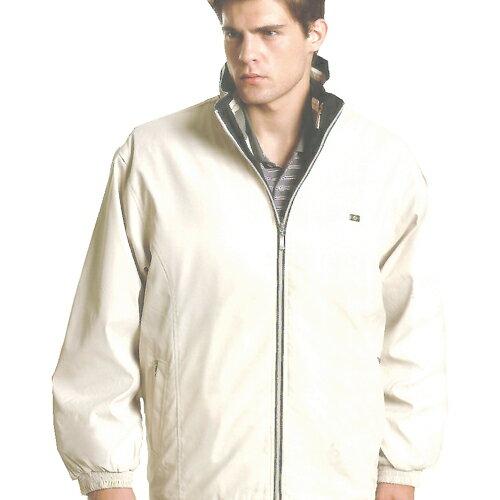 日本名牌kawasaki二件式休閒鋪棉外套-淺米色#K9655A