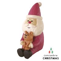 送家人聖誕交換禮物推薦聖誕禮物抱枕及靠枕到Decole 聖誕老人公仔 - 抱著松鼠的聖誕老公公  Concombre ( ZXS-48144 ) 現貨 推薦聖誕交換禮物 聖誕布置推薦就在文五雙全x文具五金生活館推薦送家人聖誕交換禮物
