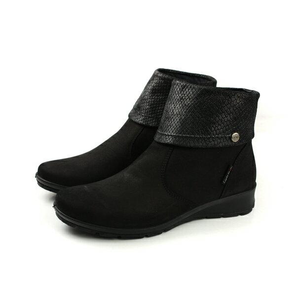 HUMAN PEACE:IMAC靴子短靴黑色女鞋82330-30050no009