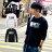☆BOY-2☆【PPK86030】美式潮流黑白碎花長袖T恤 0