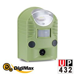 DigiMax【UP-432】『地震魚』多功能地震警報器