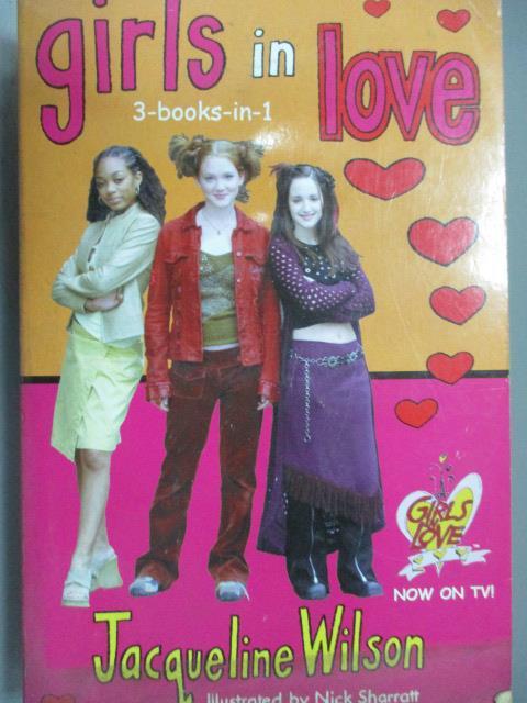~書寶 書T1/原文小說_IRW~girls in love_Jacqueline Wil