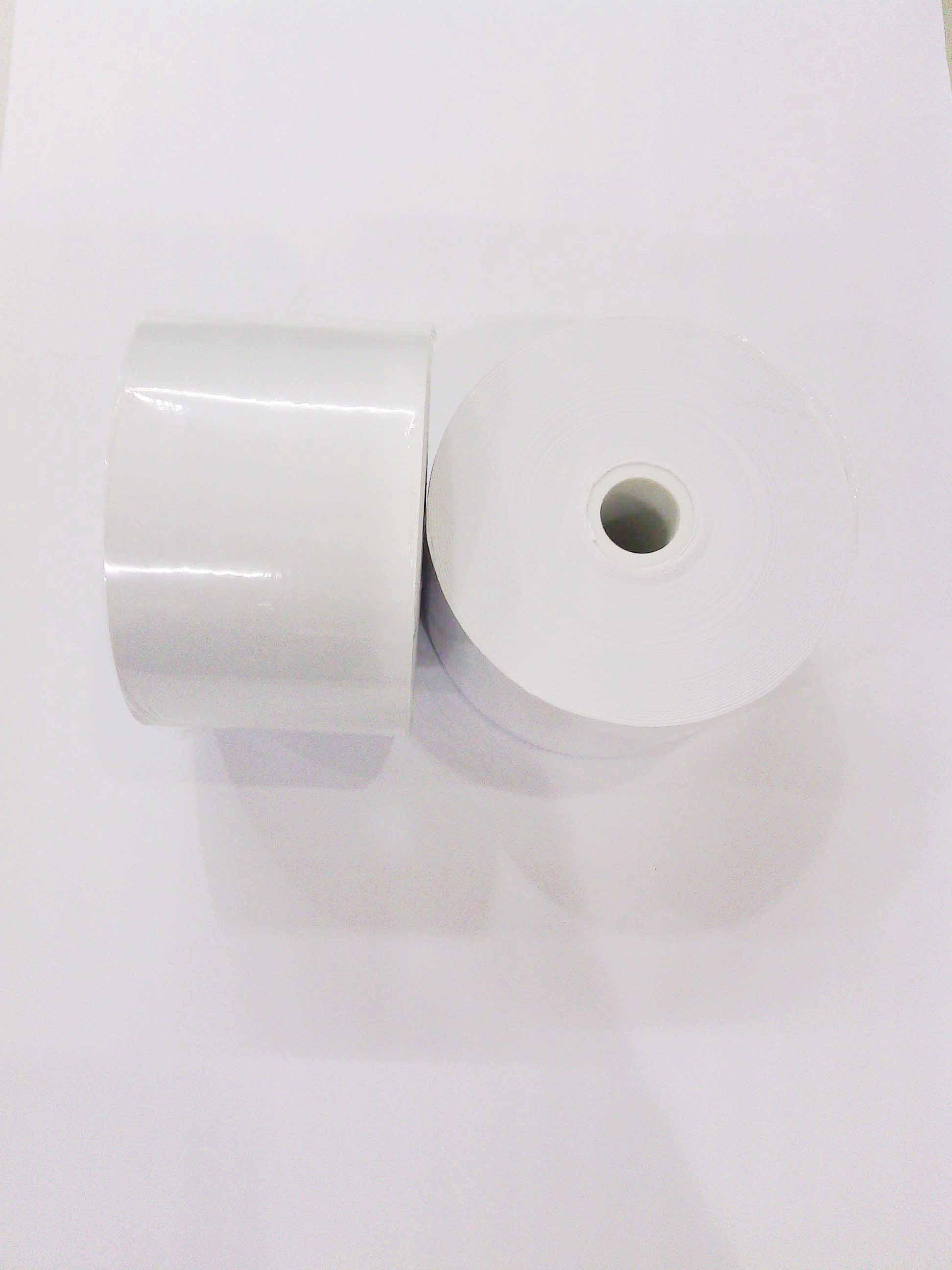 44*70*12mm (30卷)收銀機結帳/收銀用空白紙捲(定位黑點) - 限時優惠好康折扣
