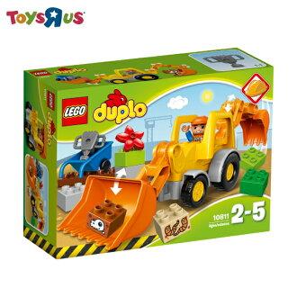 玩具反斗城 樂高 LEGO 挖土機裝載車-10811