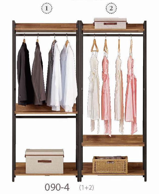 【簡單家具】,G090-4 漢諾瓦5.2尺組合衣櫥,大台北都會區免運費