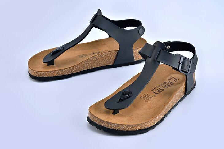 Ego Sky MIT台灣製造 後帶夾腳米糠涼鞋 女款 1