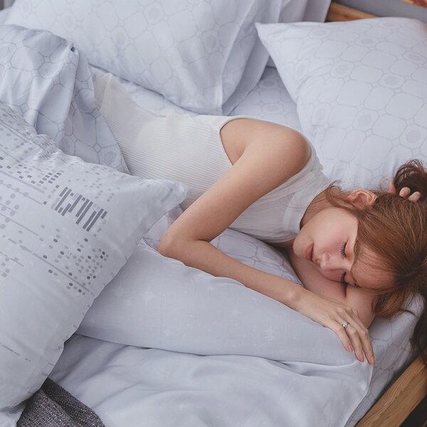 床包被套組單人-100%純天絲【城市印象】60支天絲,含一件枕套,戀家小舖