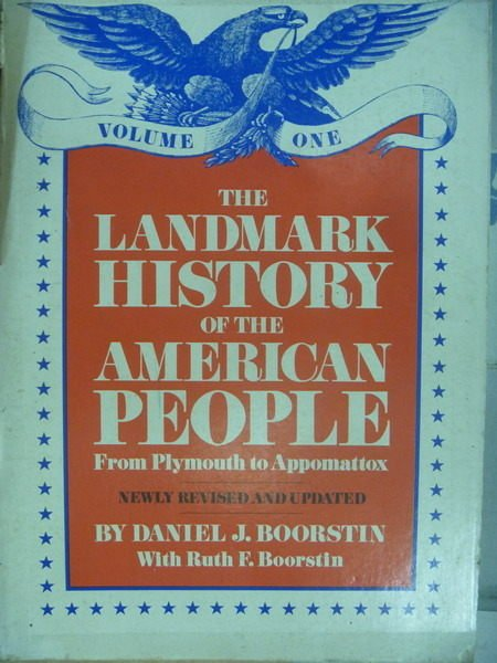 【書寶二手書T2/歷史_WEU】The landmark history of the  American People