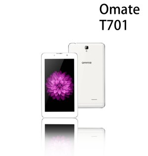 [滿3000加碼送15%12期零利率]OmateT7017吋平板4GLTE雙卡雙待2G16G-銀色《贈皮套》