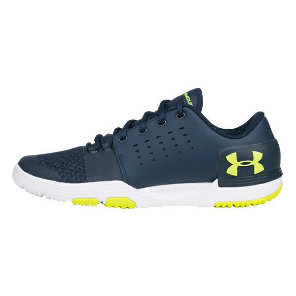UNDER ARMOUR【3000331-400】UA LIMITLESS 3.0 訓練鞋 透氣網布 深藍黃 男生