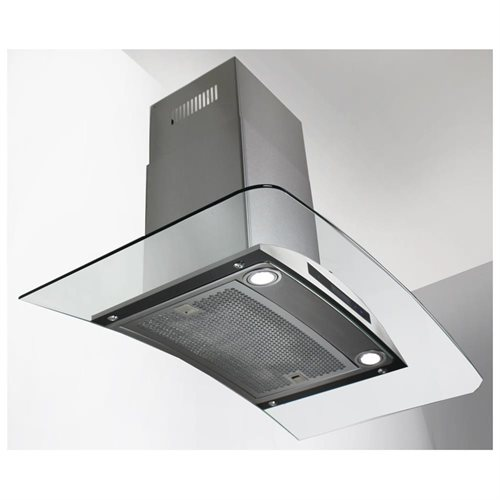 "AKDY New 30"" European Style Wall Mount Stainless Steel Range Hood Vent Touch Control AK-198KN 30"" 3"