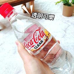 日本 Coca Cola Clear 透明可樂 檸檬味可口可樂 (單瓶) [JP730] 促銷賞味日2018.10.20