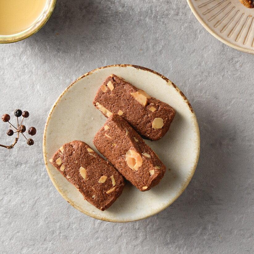 手工餅乾 巧克力夏威夷豆餅乾 200g/包