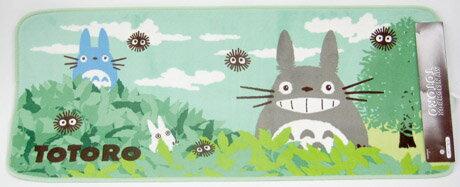 【真愛日本】16041700071 長地墊-灰龍貓嘻笑晴天 龍貓 TOTORO 豆豆龍 腳踏墊 地墊 居家
