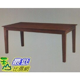 [COSCO代購]優渥實木柚木系列四邊錐形腳長方桌_W113387