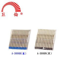 巨倫 PARKER 派克 原子筆筆芯 (A-3006B) (A-3006N)