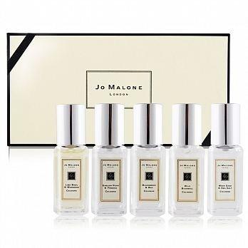 Jo Malone 5入組 (9ML*5) 五種香味一次擁有 限量供應◐香水綁馬尾◐