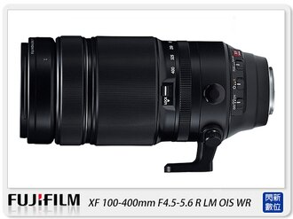 【分期0利率,免運費】排單預訂~ FUJIFILM 富士 XF 100-400mm F4.5-5.6 R LM OIS WR 鏡頭(100-400;恆昶公司貨)
