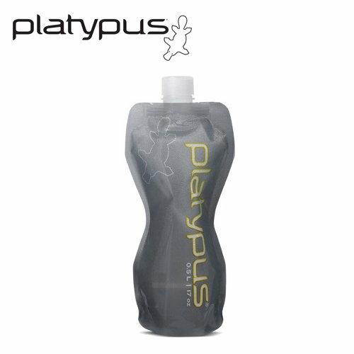 ├登山樂┤美國PlatypusSoftBottle軟式水瓶0.5L-灰#PLATY-06934