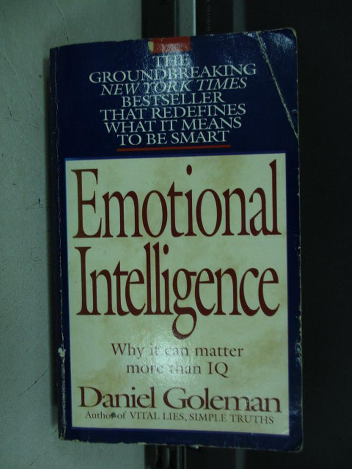 【書寶二手書T5/原文小說_KPZ】Emotional Intelligence_Daniel Goleman