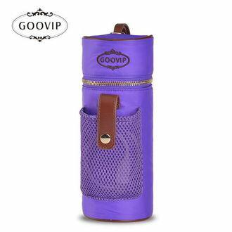 『121婦嬰用品館』GOOVIP USB充電系列-攜帶式恆溫保溫袋(紫)
