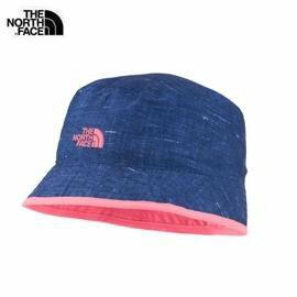 [ THE NORTH FACE ] 童 抗UV遮陽帽 蜜粉紅丹寧 / 公司貨 A9MZY2J