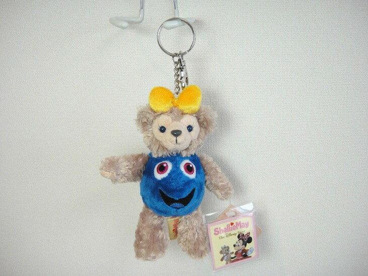 X射線【C150010】香港迪士尼樂園代購-ShellieMay變裝娃娃鑰匙圈吊飾,包包掛飾/鑰匙圈/雪莉玫/達菲/畫家