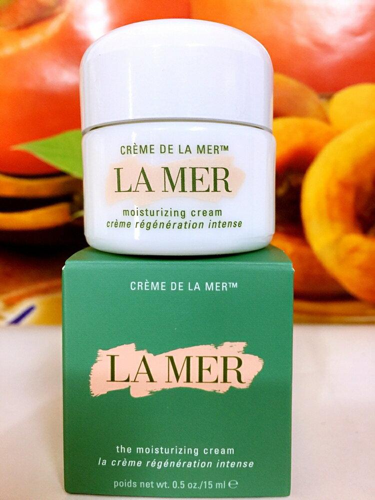 LA MER 海洋拉娜 經典乳霜 15mL  百貨公司專櫃貨盒裝
