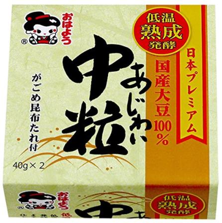 低溫熟成中粒納豆-山田 0