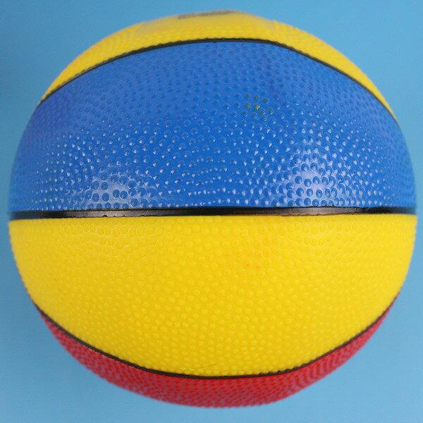 三色球 雙色充氣球 玩具球 8.5吋兒童安全球 直徑約20cm/一個入{促90}橡膠球 小皮球 彩繪籃球~創BB92.YF12622.睿