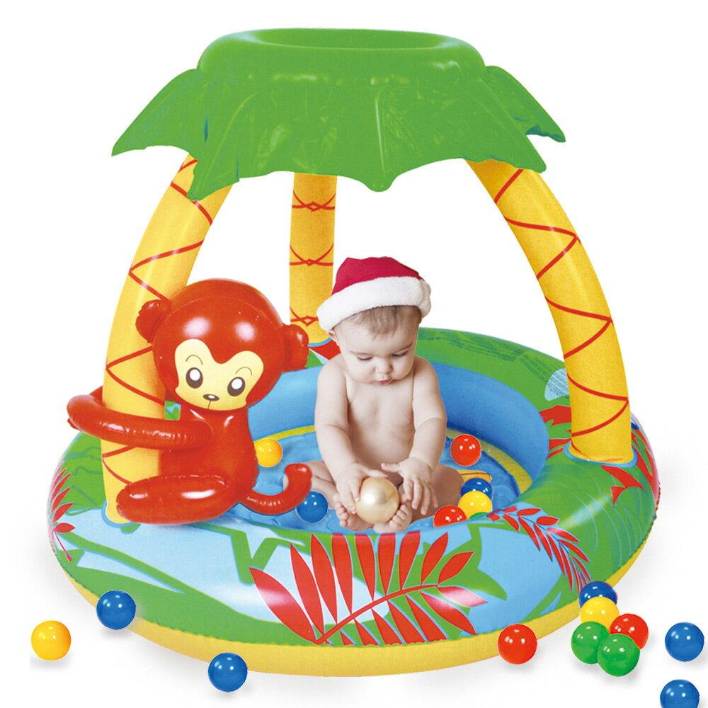 寶貝樂 猴子嬰兒水池 游泳池^(BTSPMB01102^)