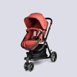 【淘氣寶寶】英國 unilove azraa 跨界多功能嬰兒推車 單寧紅 加贈 MAXI-COSI 提籃【獨創睡床式座椅】