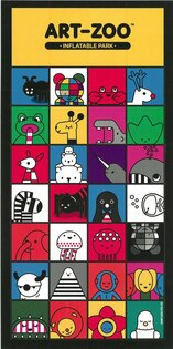 ART-ZOO特展小貼紙-動物大集合款