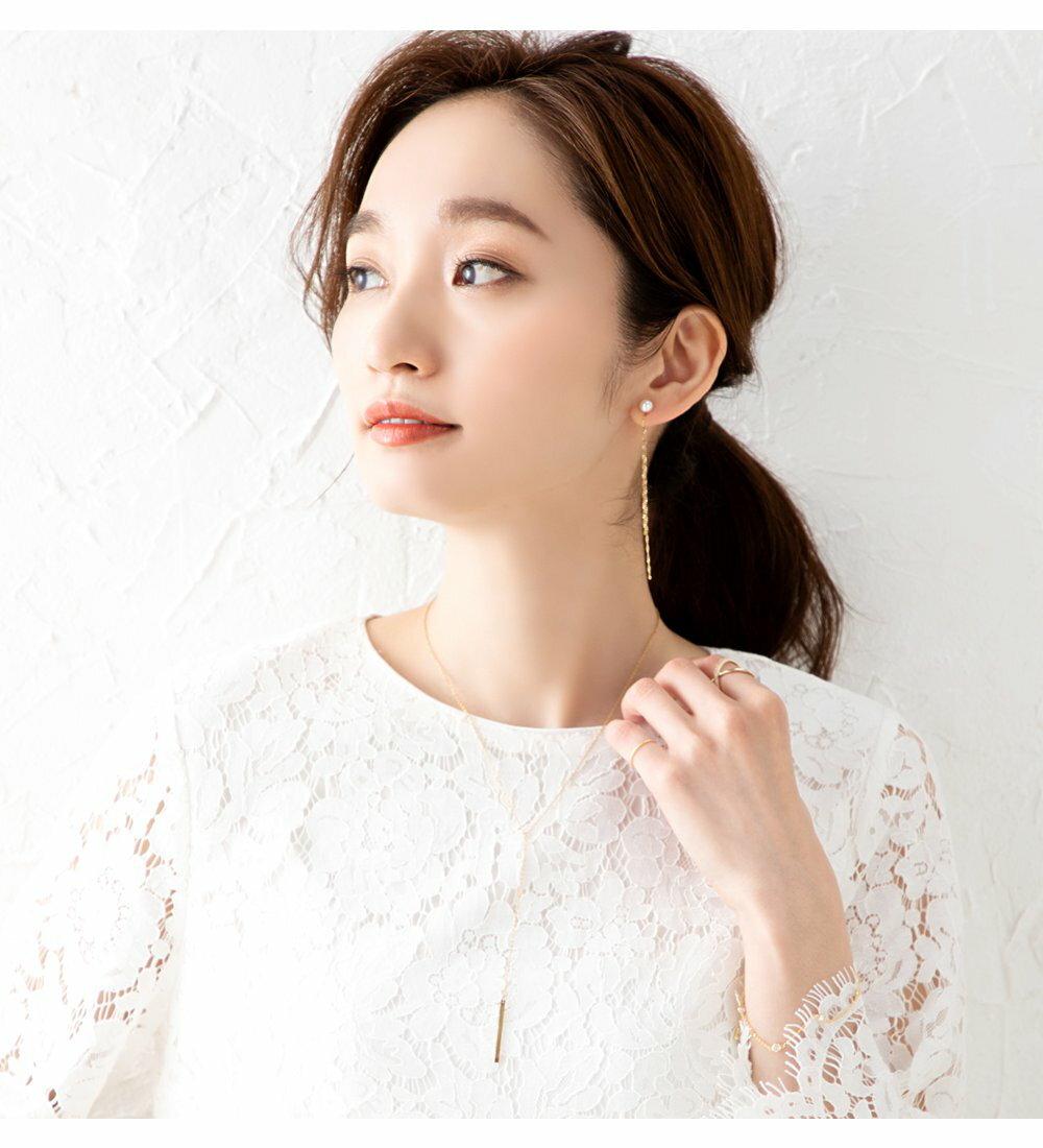 日本Cream Dot  /  典雅Y字項鍊  /  p00016  /  日本必買 日本樂天代購  /  件件含運 8