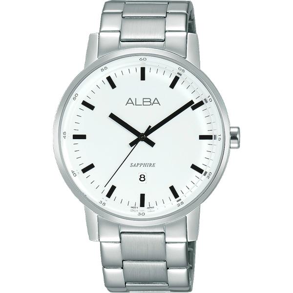 ALBA雅柏VJ32-X272S(AG8H35X1)頭酷流行手錶白39mm