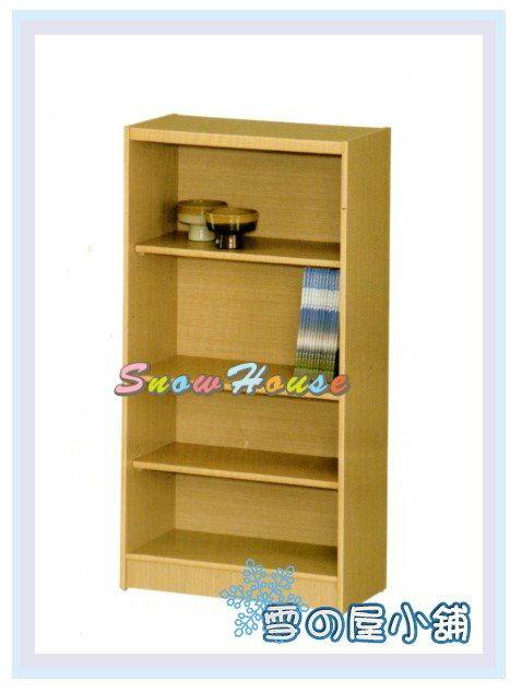 ╭☆雪之屋居家生活館☆╯AA554-06 B-02白橡木書櫃(美背式)/置物櫃/收納櫃/展示櫃/附活動隔板2片含門內一片