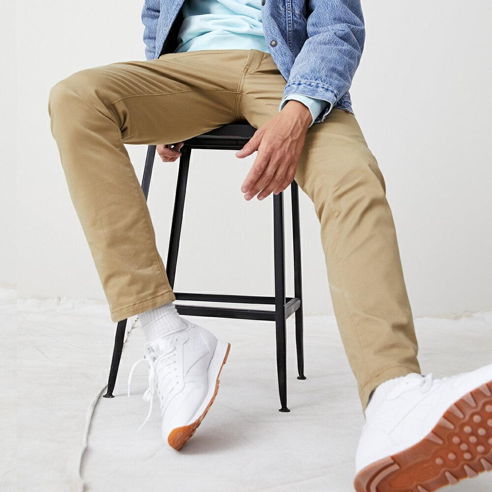 Levis 男款 Chino卡奇休閒褲  /  上寬下窄修身窄管版型  /  防盜暗袋  /  超彈力布料 3