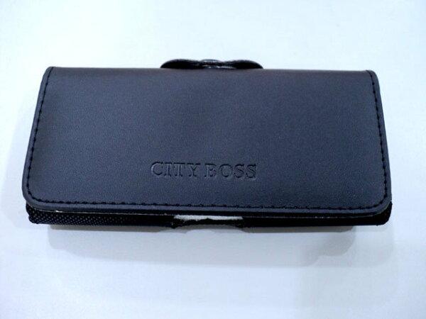 TIS 購物館:全蓋式高質感消磁橫式掛腰手機皮套╭*適HTCButterfly蝴蝶機X920D