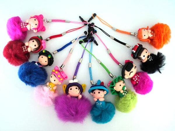 TIS 購物館:毛球萌系娃娃防塵耳機塞防塵塞垂墜耳機塞~3.5mm耳機插孔~S3note2lt26wjiphone5S2不會耳機模式