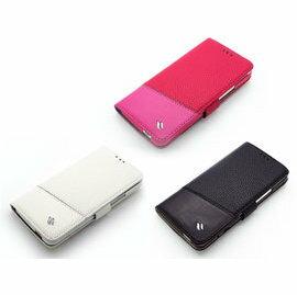 HTC Butterfly S 手機套 蝴蝶S X901e X901 Redberry 草莓紅 側掀雙料縫線皮套/手機殼/保護套/保護殼/便攜錢包/側開/磁扣/側翻/背蓋/可站立