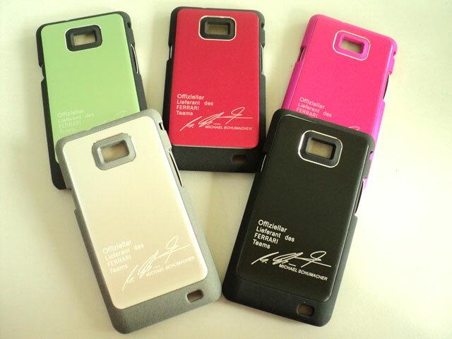 SAMSUNG  S2 i9100 超薄磨砂硬式保護殼 英字簽名 金屬/磨砂 保護殼 保護套 手機殼 背蓋 背殼 硬殼