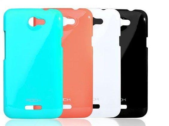 HTC One X 手機殼 ROCK洛克 輕彩系列 保護殼 鋼琴烤漆 硬殼 背蓋 輕彩保護殼
