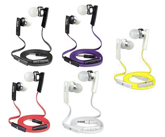 嘻哈部落 立體聲 入耳式 扁線 線控 3.5mm 耳機/免持聽筒/可接聽掛斷/耳塞式/耳道式/SH-MHS500