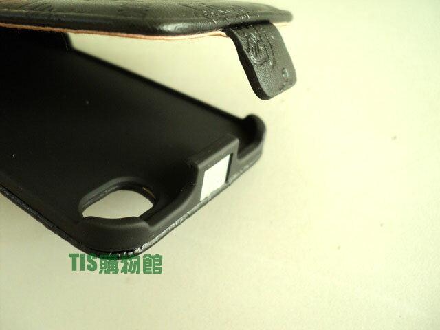 立體CUTE熊 壓紋*Apple I phone 4S/iPhone 4 下掀式皮套/掀蓋式皮套/保護套/保護殼/手機套/皮套