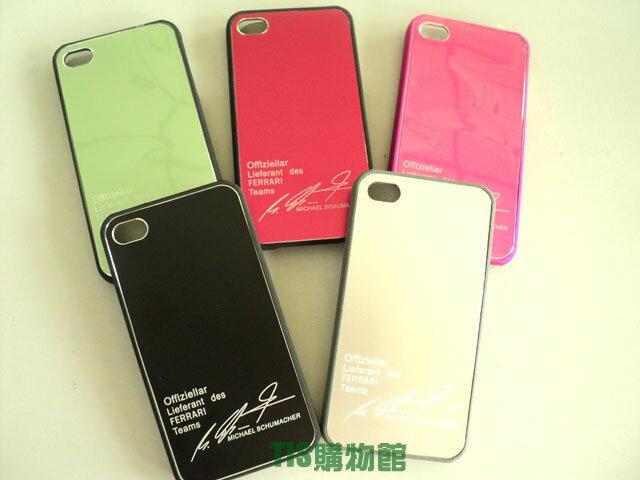 Apple I phone 4S/iPhone 4 超薄磨砂硬式保護殼 英字簽名 金屬/磨砂 保護殼 保護套 手機殼 手機套 背蓋 背殼 硬殼