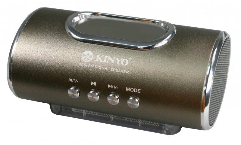 商檢合格 金葉 MPS~378 LED顯示 FM 讀卡音箱  顯示讀卡隨身喇叭  插卡式