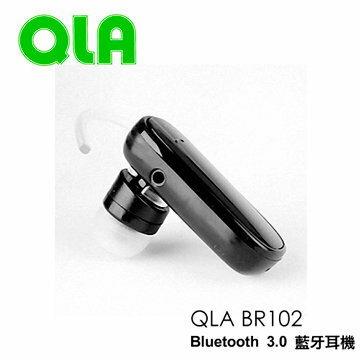 TIS 購物館:QLABR102BR-102藍芽耳機藍芽3.0版耳掛式藍芽耳機藍芽3.0羽量級超輕遠寬公司貨