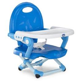 【淘氣寶寶】義大利 Chicco Pocket snack攜帶式輕巧餐椅座墊/餐椅【鯨魚藍】
