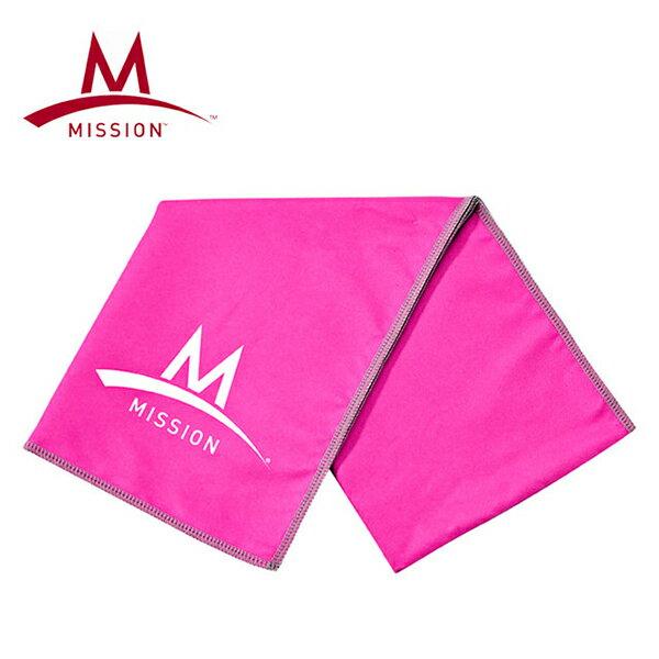 ~台南悠活 家~MISSION 107151 急凍酷涼機能毛巾~粉紅