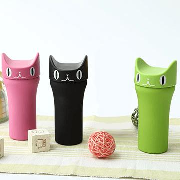 不鏽鋼可愛貓咪保溫杯^(顏色 出貨^)^(  ^)